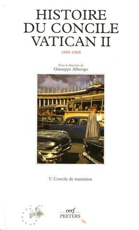 """""""histoire du concile vatican ii t.5 ; concile de transition"""" ebook"""