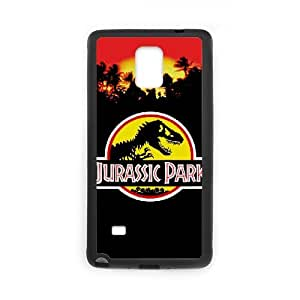 ANCASE Jurassic Park Phone Case For Samsung Galaxy note 4 [Pattern-1]