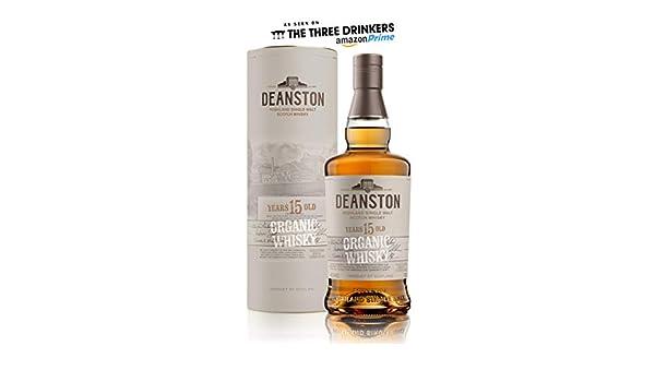 Deanston 15 Años Whisky Malta Orgánica - 700 ml: Amazon.es ...