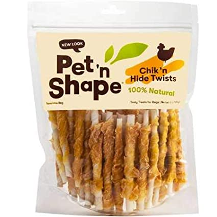 Pet 'n Shape Chicken Hide Twists by Pet 'n Shape