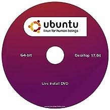 """Ubuntu v17.04 Linux Desktop Edition (64-Bit) """"NEW RELEASE"""" Install-Live DVD"""