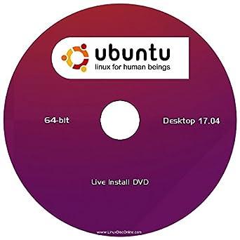 "Ubuntu 17.04 Linux Desktop Edition (64-Bit) ""NEW RELEASE"" Install-Live DVD"