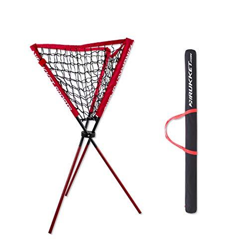 Rukket Baseball / Softball Ball Caddy | Portable Batting Practice Ball Holder ()