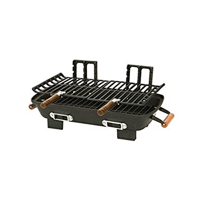 Marsh Allen 30052AMZ Kay Home Product's Cast Iron Hibachi Charcoal Grill, 10 by 18-Inch from Marsh Allen