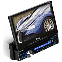 Boss audio - bv9986bi - boss audio bv9986bi - single-din 7 touchscreen tft dvd/cd receiver with full ipod control and bluetooth
