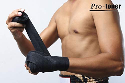Protoner PRHWRA Cotton Boxing Punching Hand Wraps, 3 Meters Price & Reviews