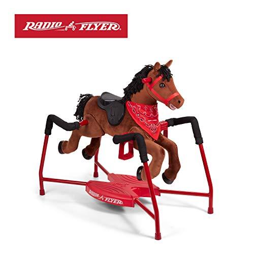 Chestnut - Radio flyer rocking horse with sound