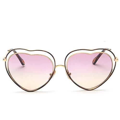 Sol Mujer Summer Pink De De Stacking Love Gafas Style Pink Color Sol Gafas Tfaqwq