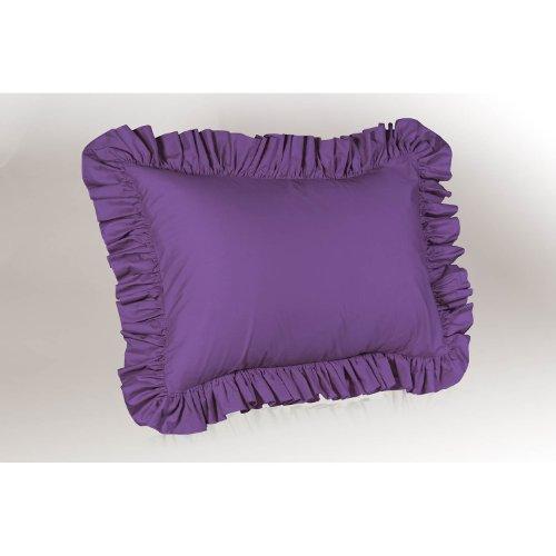 Shop Bedding Ruffle Pillow case - Standard Pillow sham (Grape), Ruffle Pillow Cover.