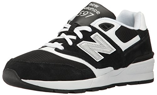 White Balance 597 Lifestyle New Fashion Sneaker Black Men's 10w8Bqd