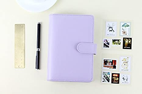 Amazon.com : Passion leather spiral notebook Original office ...