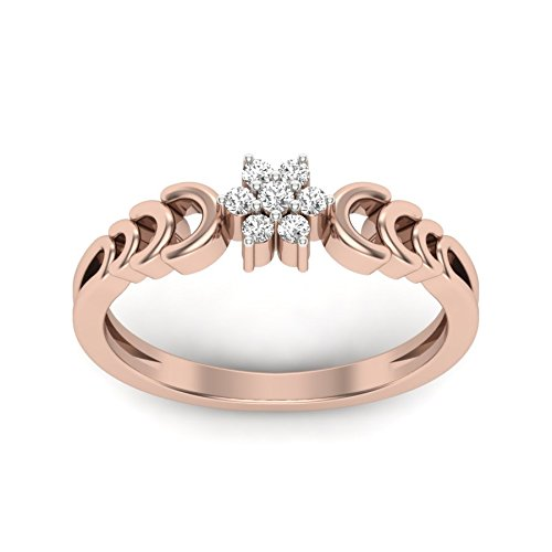 Perrian 18KT Diamond Ring for Women Rings