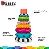 Sassy Stacks of Circles Stacking Ring STEM Learning