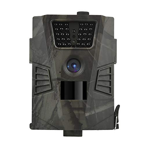 DIGITNOW Trail Camera – 12MP 1080P FHD Wildlife Scouting Hunting Camera with 30 pcs Infra LEDs up to 65ft/20m for Wildlife Scouting Digital Surveillance Waterproof IP65