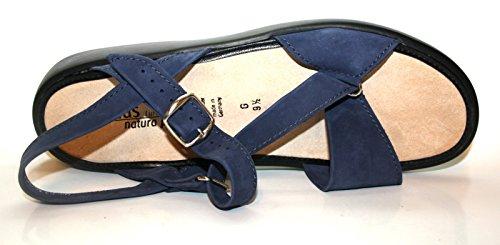 Solidus Natura Plus - Sandalias de vestir de cuero nobuck para mujer azul - azul (marino)