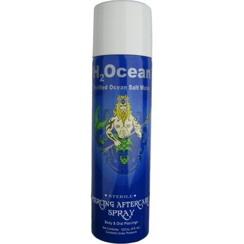 H2Ocean 4oz Piercing Aftercare Spray (Piercing Aftercare)