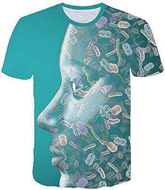 YDXH De Manga Corta Camiseta de los Hombres del Verano Nuevos ...