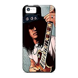 Xejnanh6096sxCkT Tpu Phone Case With Fashionable Look For Iphone 5c - Slash