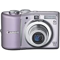 Canon PowerShot A1100IS 12.1 MP Digital Camera with 4x Optical Image Stabilized Zoom and 2.5-inch LCD (Pink) (OLD MODEL) Overview Review Image