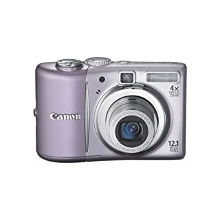Canon PowerShot A1100IS 12.1 MP Digital Camera with 4x Optical Image Stabilized Zoom and 2.5-inch LCD (Pink) (OLD MODEL)