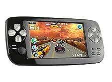 "Handheld Game Console, 4.3"" 653 Classic Portable Game Console Pap-KIII, Support GBA/GBC/GB/NES/SFC/Sega/NEOGEO, Birthday Gift for Children - Black"