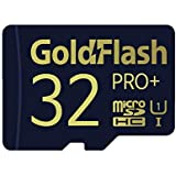 GoldFlash PRO+ 32GB MicroSD Card with Adapter UHS-I 85MB/s U1