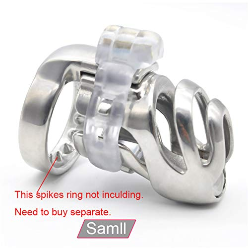 SCGOLD Wonderful 67Mm31Mm Small Size Chastity Device Adult Cock Cage Sex Toy 316L Stainless Steel Chastity Belt Sex Toy 48mm by SCGOLD (Image #4)