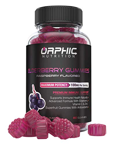 Natural Elderberry Vitamin Gummies Antioxidant product image