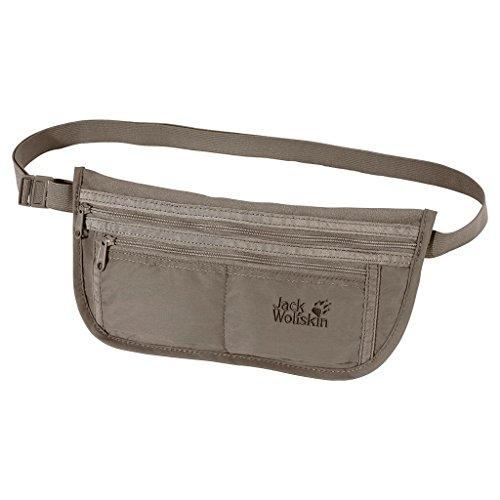 Jack Wolfskin Unisex Hüfttasche De Luxe, silver mink, 13 x 26,5 cm, 84370-590