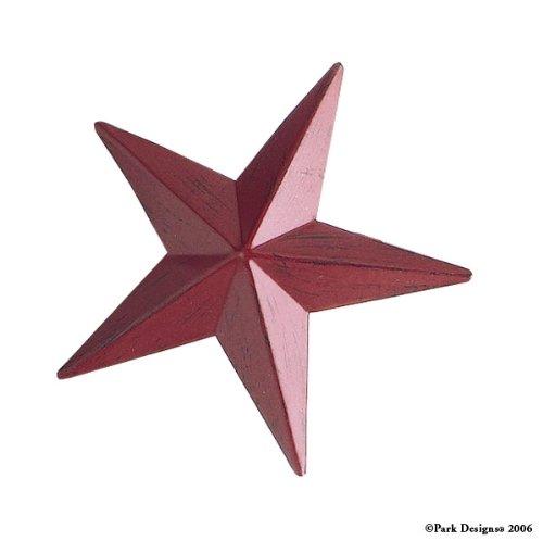 Red Star Napkin Ring, Set of 4
