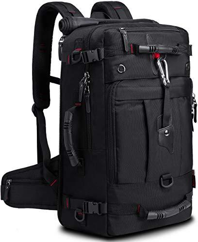 KAKA Travel Backpack,Carry-On Bag Water Resistant Flight Approved Weekender duffle backpack Rucksack Daypack for Men Women (18 inch) best to buy