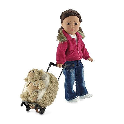 18-inch Doll Toddler Luggage | Doll Toddler Backpack with