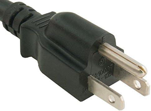 3 Feet Cable Leader 14 AWG 15A 125V Power Cord NEMA 5-15P to IEC320 C15
