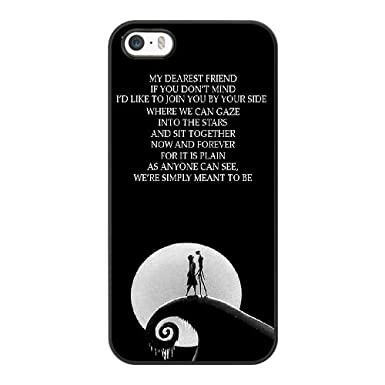 apple iphone 55sse case generic nightmare before christmas quotes cover case - Nightmare Before Christmas Quotes
