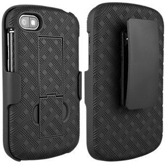 Blackberry Black Shell Holster Kickstand Review