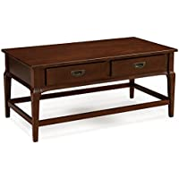 Leick 22004 Contemporary Stratus Two Drawer Coffee Table