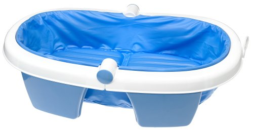 Amazon.com : Summer Infant Newborn-To-Toddler Fold Away Baby Bath ...