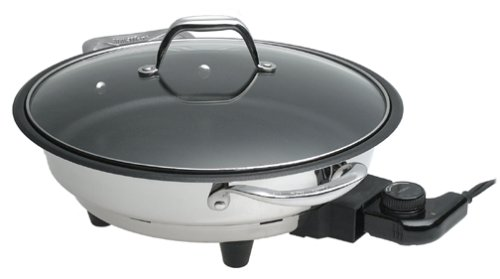 VillaWare V6300-12 12-Inch Classic Electric Skillet with Nonstick Coating by Villaware