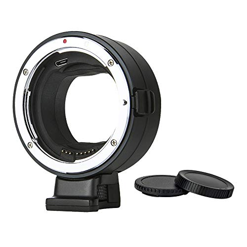 Commlite cm-EF-NZ Electronic Lens Adapter Compatible for Canon Sigma EF/EF-S Lens to Nikon Z Mount, Auto-Focus Lens Mount Adapter for Nikon Mirrorless Camera Z6 Z7