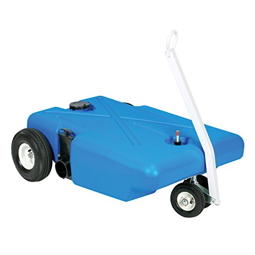 Used 4 Wheelers - Barker 25895 4-Wheeler Tote Tank - 25 Gallon Capacity