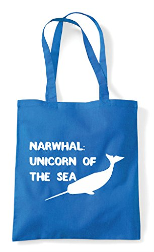 Of Sapphire The Unicorn Sea Shopper Narwhal Bag Funny Tote wq8zWZ