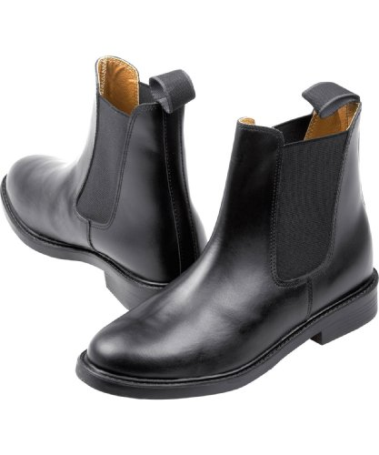 Black CBL CBL Leather Boots Jodphur Jodphur Leather wqYrxgBq