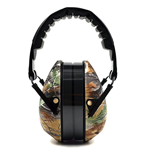 Hearing Protection/Folding Soundproof Ear Muff Noise-Canceling Headphones, Camo