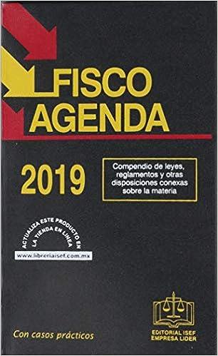 Amazon.com: FISCO AGENDA 2019 (9786075410654): EDICIONES ...