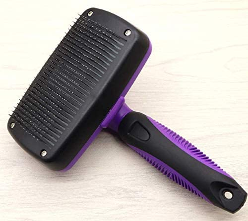 Green//Black NEW SPECIAL DESIGN Prado Select Pets Self Cleaning Slicker Brush for Pets Dogs /& Cats Retractable Design for Quick /& Easy Pet Fur Removal Fine /& Safe Bristles To Detangle /& Massage DOG SKIN or CAT SKIN