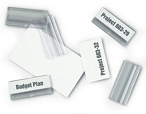 DURABLE SHERPA Index Tabs, 1/5 Cut, Transparent, 10-Pack (560919)