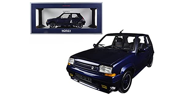 Amazon.com: StarSun Depot 1989 Renault Supercinq GT Turbo Alain Oreille 1/18 Model Car by Norev: Home & Kitchen