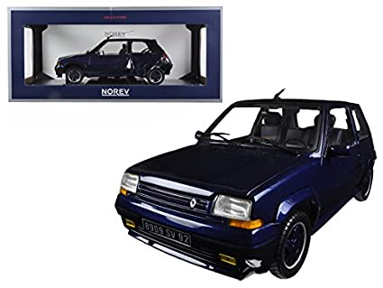 StarSun Depot 1989 Renault Supercinq GT Turbo Alain Oreille 1/18 Model Car by Norev