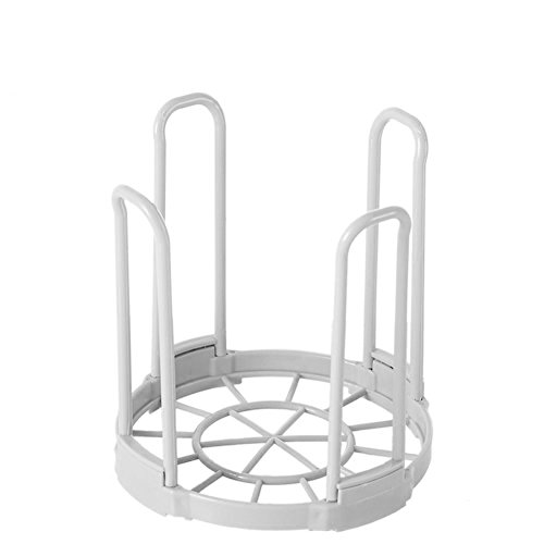 (daffodilblob Kitchen Bowl Draining Basket Detachable Plastic Layer Storage Dish Drying Rack 5.91