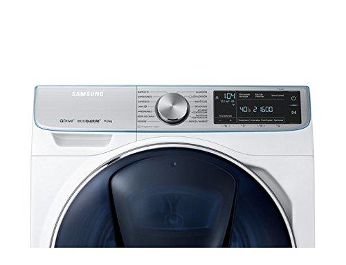 Samsung WW90M76FNOA Independiente Carga frontal 9kg 1600RPM A+++-40% Blanco - Lavadora (Independiente, Carga frontal, Blanco, Giratorio, Tocar, Izquierda, ...